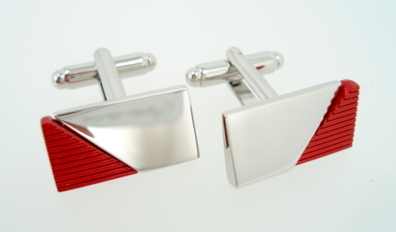 wd london red cufflinks
