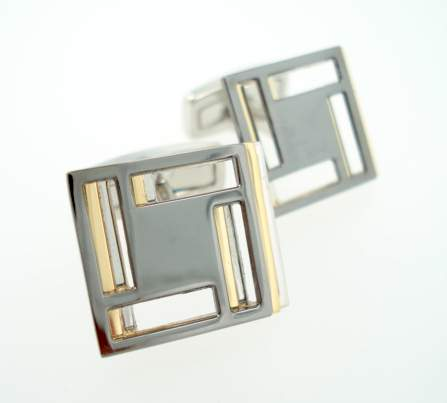 wd london staggered cufflinks
