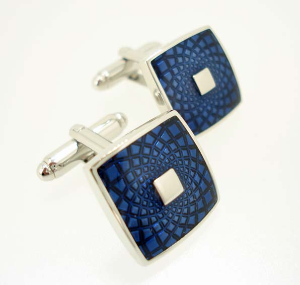 wd london blue cufflinks