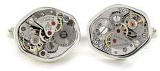 antique watch movement cufflinks