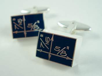 national design museum of new york constantin boym bluepring cufflinks