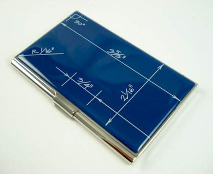 Constantin Boym Blueprints Business Card Holder