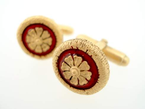 ledure clock cufflinks