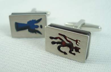 kenneth cole cufflinks devil in disguise