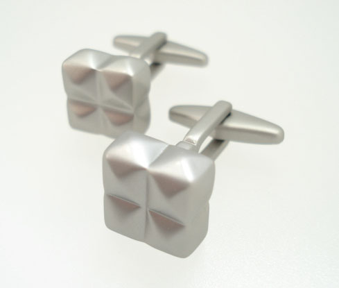 kenneth cole silver cufflinks