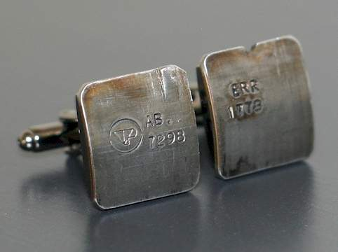 Land Rover Piston Rod Bearing Cufflinks