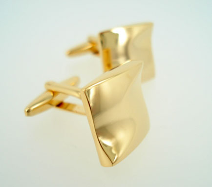 Liquid Gold Cufflinks