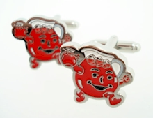 kool aid man cufflinks