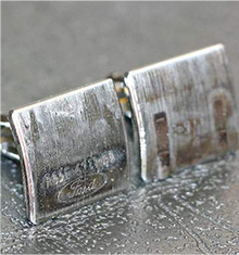 piston rod cufflinks