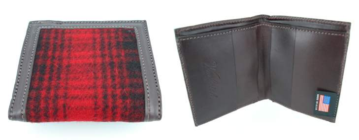 woolrich plaid wallet